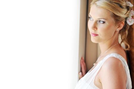 Studio portrait of beautiful stylish bride Stock Photo - 8701015