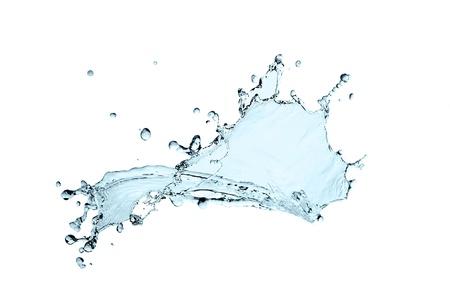 beautiful  water splash freeze motion photo
