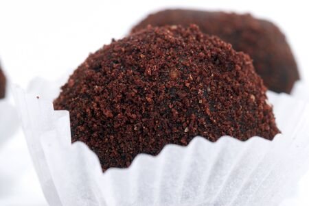 fv: chocolate cakes from  crushed cookies and nuts