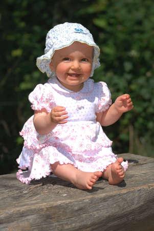 quite: quite little girl