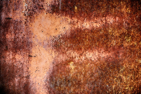 texture of old rusted metal wall. Stock Photo - 20078357