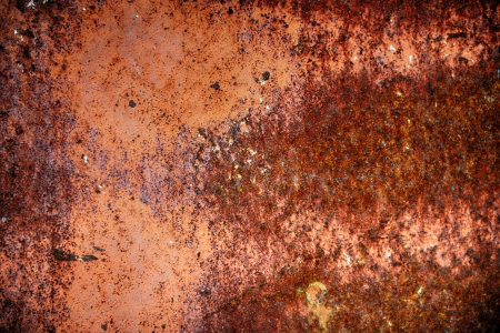 texture of old rusted metal wall.  Stock Photo - 20437572
