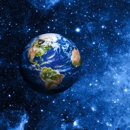 planete terre: la planète terre Banque d'images