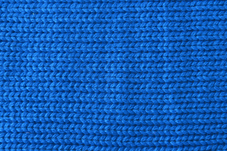 interlink:  wool sweater texture. blue color