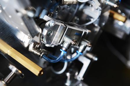 modern model of industrial machine. inside view on details Banque d'images