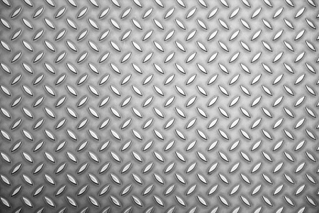 diamond plate: background texture of metal plate sheet