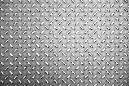 diamond plate: background texture of metal plate sheet