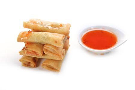 opvulmateriaal: smakelijke broodjes pannenkoeken met vulling