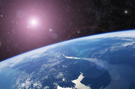 이 이미지의 행성 지구 요소 스톡 콘텐츠