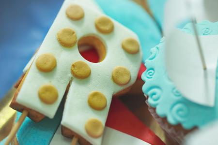 Cake like letter R