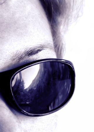 Sun eyeglasses Stock Photo