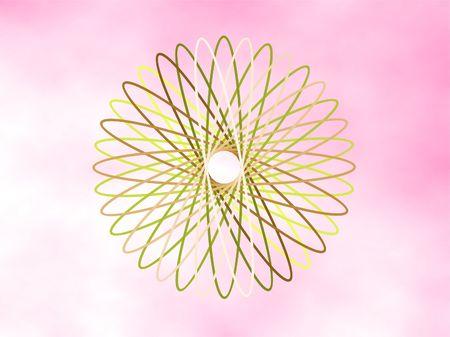 Circle ornate designe photo