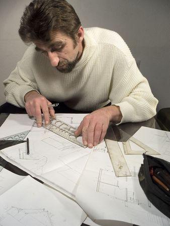 designe: Planing designe Stock Photo