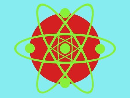 designe: Ornate scrolled circle science designe