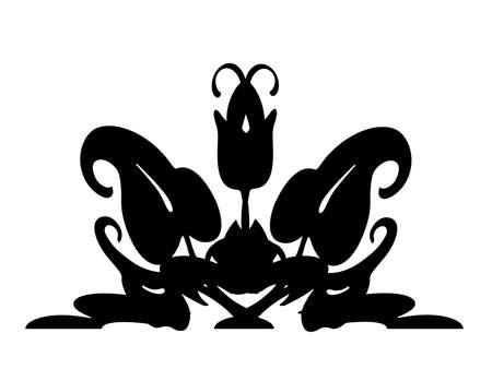 designe: Ornate scrolled designe