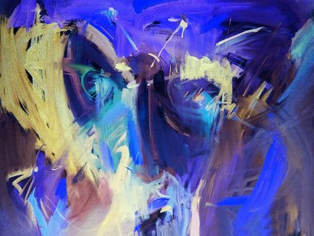 Blue abstract backgrounds paintings