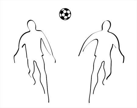 mondial: illustration of soccer