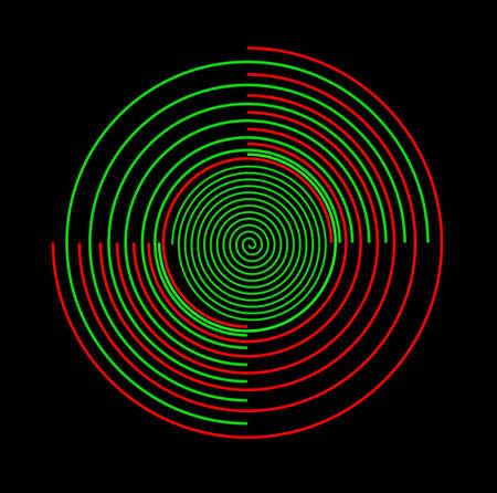 designe: Ornate circle scrolled designe
