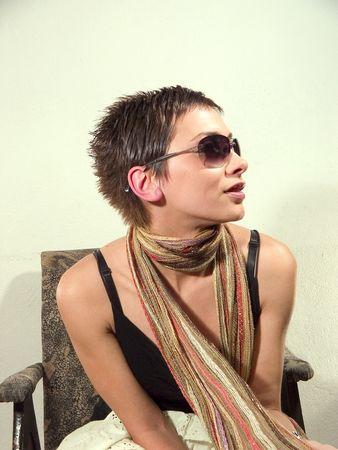 sunglassess: Beauty woman portrait