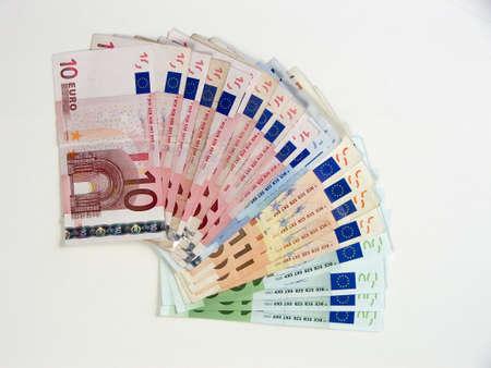 iniciativas: Euro dinero  Foto de archivo