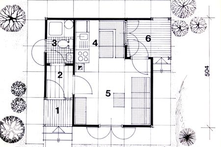 dimensions: Architecture planning of interriors with dimensions