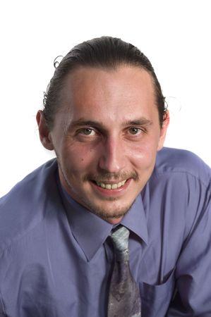 Portrait business man in cravat Stock Photo - 724019