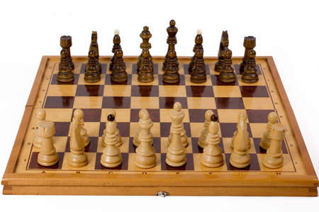 Chess board ready for start game Stock Photo - 923868