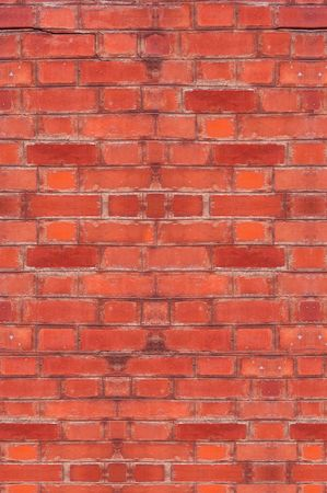 Wall of red brick for backgrounds, arch details photo