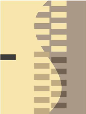 quadrant: Vector illustration cube ornamnet, abstract line sketching