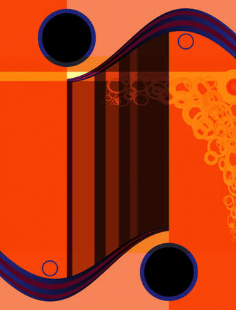 cyrcle: Vector abstract illustration of backgrounds with many shapes