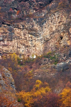serbian: Place where St. Sava ( Serbian saint) spent his time in austere life at the end of the XII century Stock Photo