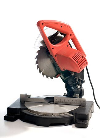 variable: Rotataing electricity circular saw with variable angle for wood