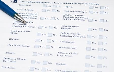 lepra: Formulario m�dico que necesita para completar la informaci�n necesaria acerca de su enfermedad