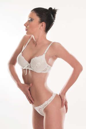 cuerpo perfecto femenino: cuerpo de la mujer perfecta en bikini