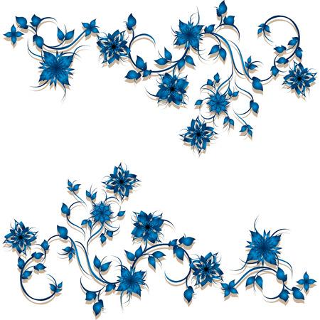 eps 10: Floral decoration. Vector, EPS 10