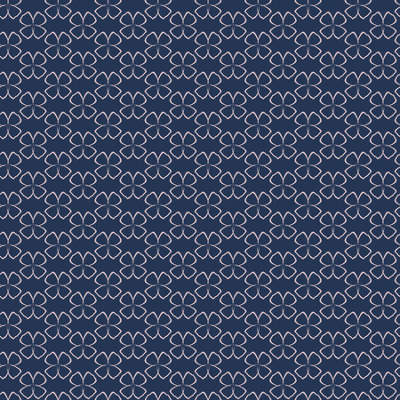 fabric texture: Seamless pattern with  abstract simple flowers