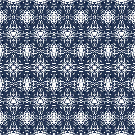 fabric texture: Seamless abstract pattern with curved abstract elements. Ornament for fabric, paper and other.  Illustration