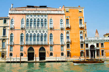 Venice is a city in northern Italy. It consists of small islands linked by bridges. It is part of the Unesco world heritage. The Mizani Moretta Palace is a Venice palace located in the San Polo district, right by the Grand Canal