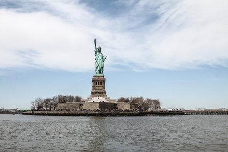 Statue of Liberty New York United States 04/12/2014 Redactioneel