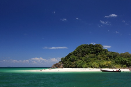 Lipe Island in Satun Thailand Stock Photo