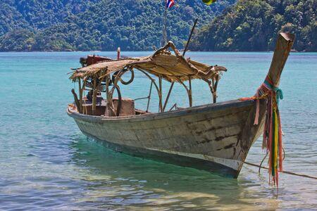 Local boat at Surin Island