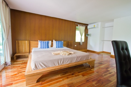Bed Room at Analay resort Koh Kood Stock Photo - 13244752