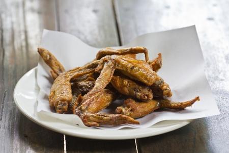 Thai fried Chicken wing photo