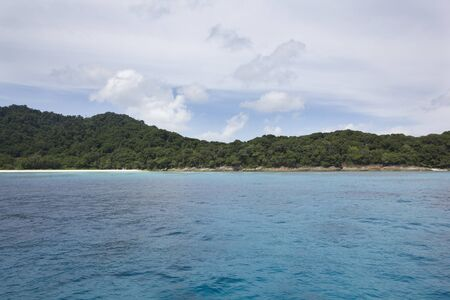 Crystal clear water at Tachai Island in Simailan national park Stock Photo - 13595178