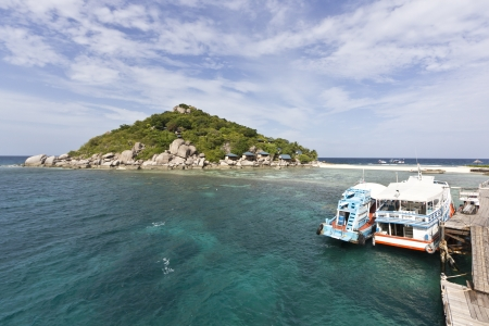 Koh Nangyuan in south of Thailand Stock Photo - 15202922