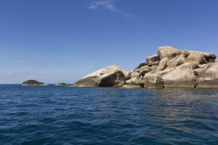 Sea and sky at Koh Tao in Thailand