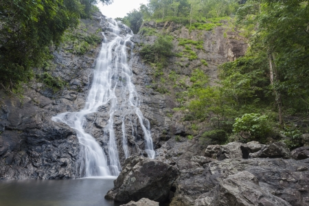 Sarika waterfall in Nakon Nayok province