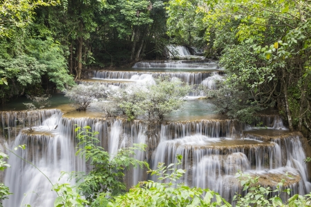 Huai Mae Khamin waterfall in Thailand Stock Photo - 21264576