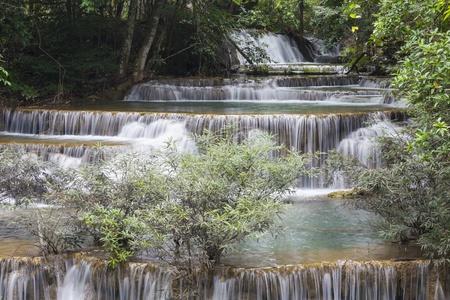 Huai Mae Khamin waterfall in Thailand Stock Photo - 21264577