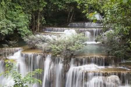 Huai Mae Khamin waterfall in Thailand Stock Photo - 21264579